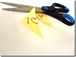Divorce scissors
